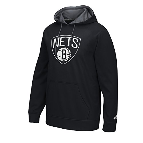 (NBA Brooklyn Nets Men's Tip-Off Playbook Hoodie, Small, Black)
