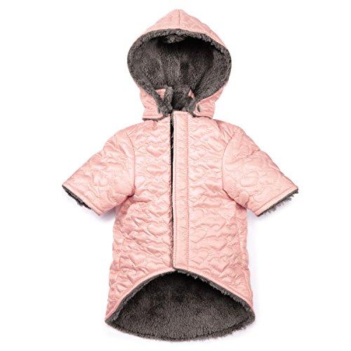 Zack & Zoey Elements Hearts Jacket, Pink, XX-Small