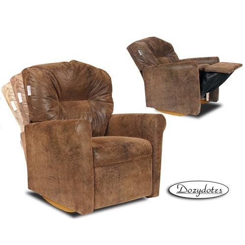 Dozydotes Contemporary Kid Rocker Recliner - Bomber by Dozydotes