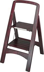 Amazon Com Cosco Two Step Rockford Wood Step Stool Home