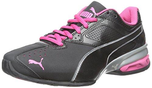 Puma Damen Tazon 6 Wn FM Cross-Trainer-Schuh Schwarz / Puma Silber / Rote Beete Lila