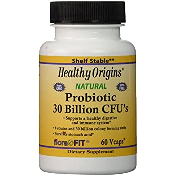 Amazon Com Healthy Origins Probiotic 30 Billion Cfu S
