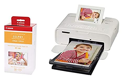 Canon SELPHY CP1300 Photo Printer with FOC 36 Papers Black