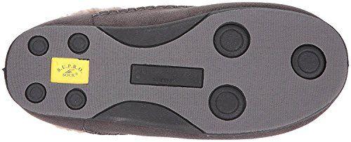 Deer Stags Mens Nordic S.U.P.R.O Sock Cushioned Infoor Outdoor Clog Slipper Charcoal Uw0V5