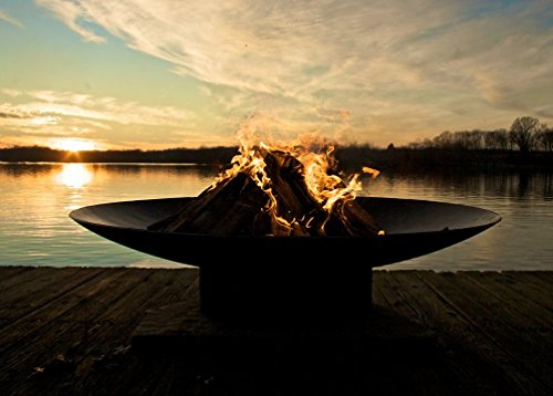 "Fire Pit Art Asia Woodburning Fire Pit - 1/4 "" thick mild carbon Steel Wood burning - patio, outdoor-decor, fire-pits-outdoor-fireplaces - 41%2BlkL8ohWL -"