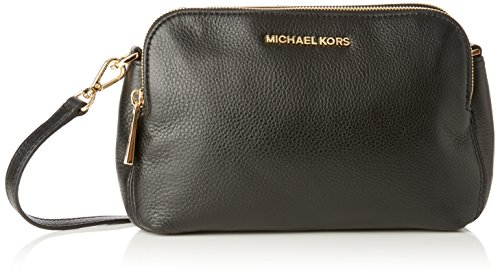 Michael Kors Womens Bedford Medium Double Zip Cross-Body Bag
