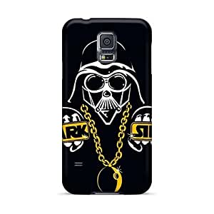 Protector Hard Phone Covers For Samsung Galaxy S5 (QQw8148GffI) Unique Design High Resolution Dark Side Skin