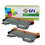 2 Pack EPS Replacement Brother TN450 Black Toner Cartridges, Office Central