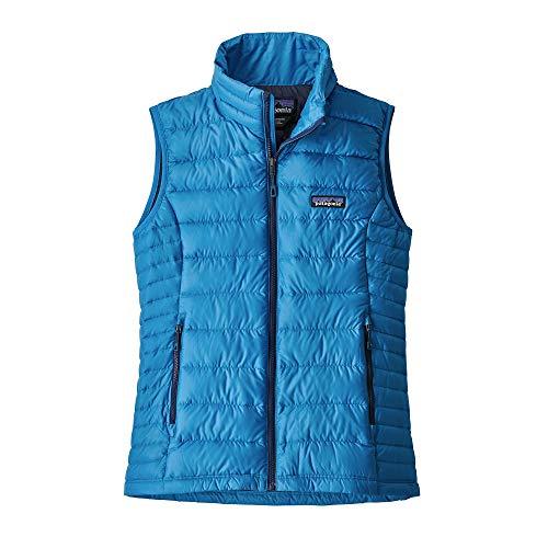 Manche Sans Down Sweater Azur Patagonia Femme Gilet ZFCfq4n7WP