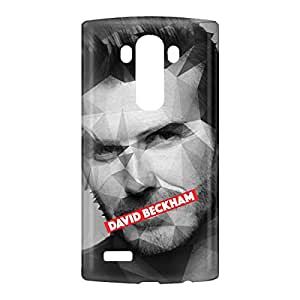 Loud Universe LG G4 David Beckham Print 3D Wrap Around Case - Multi Color