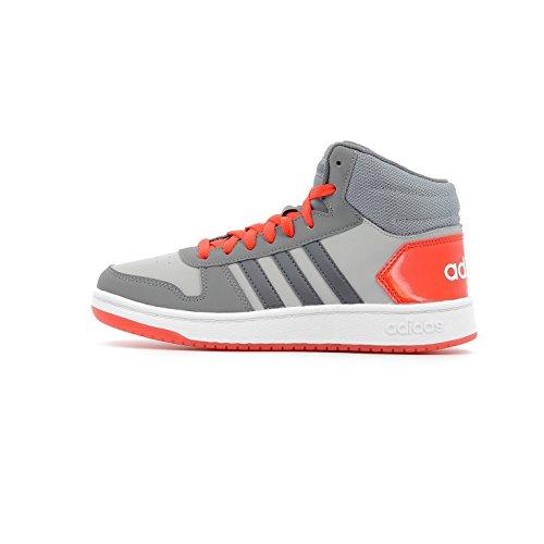the latest 865d6 36c7f adidas Unisex-Kinder Vs Hoops Mid 2.0 K Gymnastikschuhe Grau (Grey Two F17