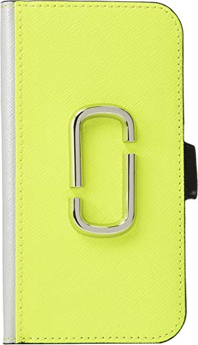 - Marc Jacobs Women's Snapshot Bookcase iPhone 8 Case Bright Yellow Multi One Size