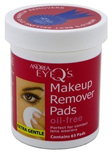 Oil Free Eye Makeup Remover Pads Andrea - 8