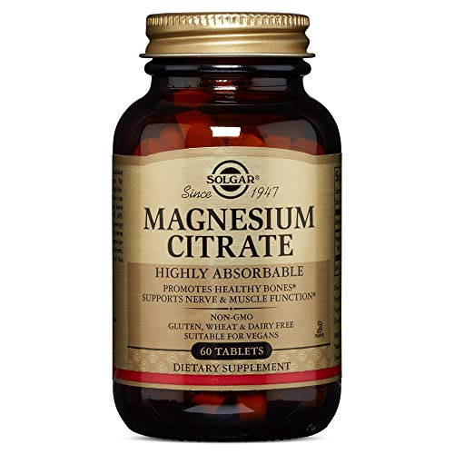 Solgar - Magnesium Citrate, 60 Tablets