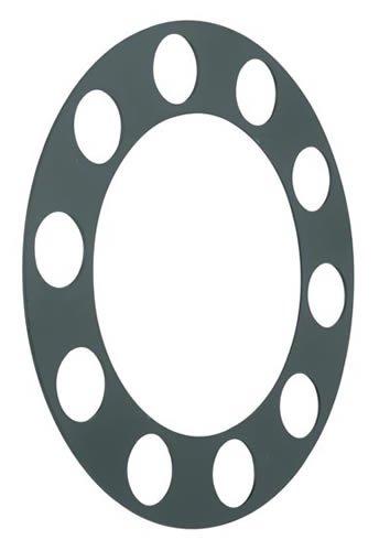 Roadmaster 365 Plastic Rim Protector (Black) for Stud Piloted - Plastic Rim