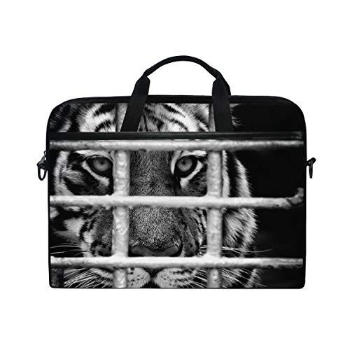 Wild Tiger Laptop Shoulder Messenger Bag for 15 inch to 15.4 inch MacBook Pro Laptop MacBook Air Notebook Computer Ultraportable Protective Velvet Handbag