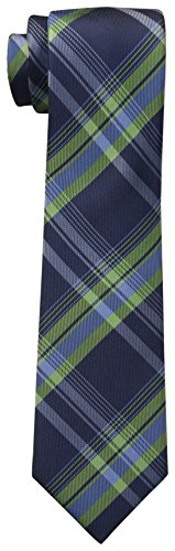 Dockers Big Boys' Plaid Necktie, Blue, One Size