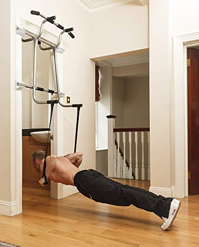 Triple Door Gym Ultimate 3 In 1 Doorway Trainer Raised