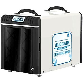 AlorAir Basement / Crawlspace Dehumidifiers (90 Pint with Pump)