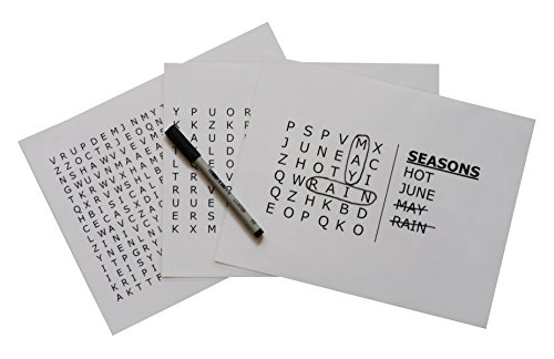 Keeping Busy Seasons Word Search Dementia and Alzheimers Grab & Go Engaging Puzzles / Activities / Games for Older Adults