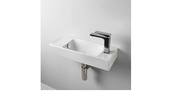 54 x 20 cm Brick Lavabo de lavabo peque/ño suspendido de cer/ámica