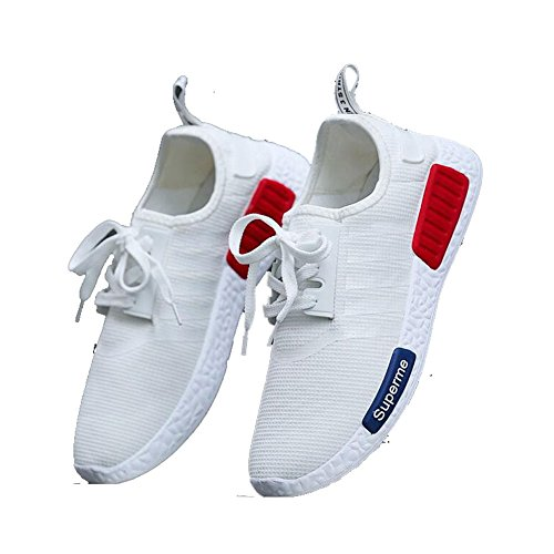 Price comparison product image Aoniu Men Knitted Ventilation Casual Running Shoes 1001 (US8.5,  Color 4)