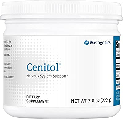 Metagenics Cenitol Powder Nervous System Support, 7.8 Ounce