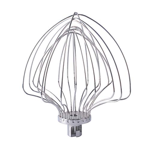 (KN211WW 11-Wire Whip Compatible with KitchenAid Mixer Attachments for 5 and 6 Quart Lift Stand Mixer)