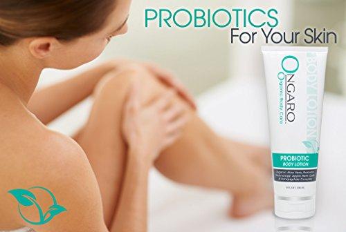 41%2Blok1YCJL - Probiotic Body Lotion; Moisturizes and Hydrates Dry Skin; Best Anti-Aging Formula with Chamomile, Shea Butter, Organic Aloe Vera & Vitamins C & E | 8oz