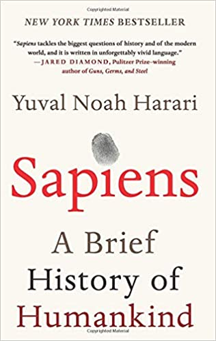 Amazon com: Sapiens: A Brief History of Humankind (9780062316097