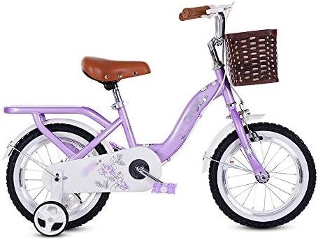 LJJL Bicicleta Infantil Pedal De Niña De 3 Años Bicicleta 12/14/16 ...