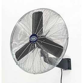 Oscillating Wall Mount Fan, 24'' Diameter, 1/4hp, 7525cfm by Global Industrial