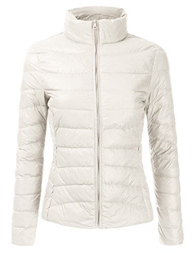 white quilted jacket - 9