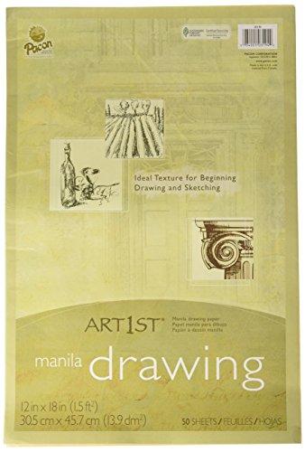 * CREAM MANILA DRAWING PAPER 12 X 18