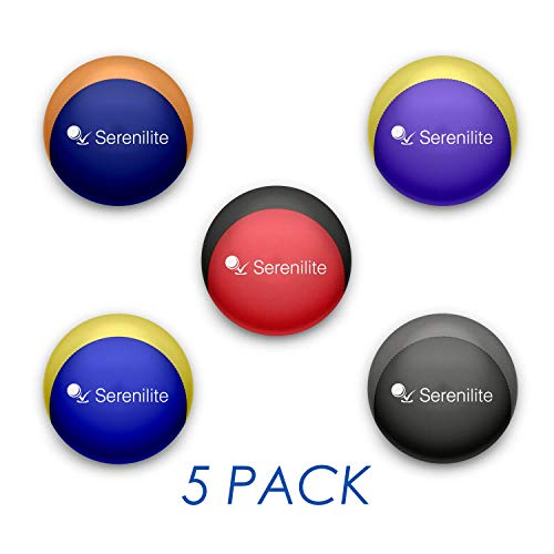 (Serenilite Bundle of 5 Relax Series - Optimal Stress Relief - Great for Hand Exercises and Strengthening)