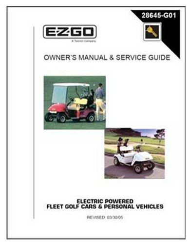 Golf Cart Manual - 5