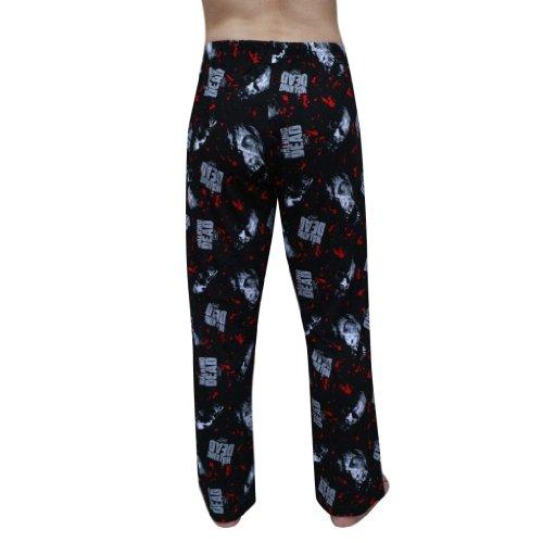 isCool Mens The Walking Dead SUMMER NEW Sleeping Pajama Pants - Black (Size: S)