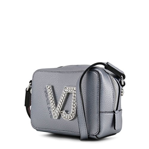 Women Designer Versace Jeans Grey Crossbody Bag Body Genuine Cross Bag Women I6WY8nqPx