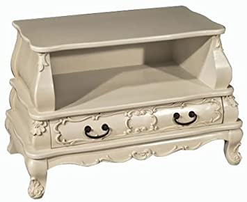 SHABBY CHIC BERGERE FRENCH STYLE ORNATE TV TELEVISION MEDIA STAND CABINET  UNIT ** A RANGE