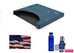 """This Free Flow waterbed mattress is manufactured by United States Water Mattress and it will fit into old school California King 72""""w x 84""""L x 9"""" hardside waterbed frame. The mattress also includes a Fill Kit with 4 oz Premium Conditioner .Th..."""