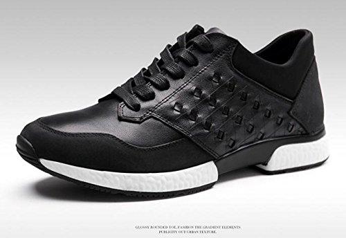 Mens Vrijetijdsbesteding Casual Wandelen Schoen Loopschoenen Outdoor Ventileren Schoenen Zwart