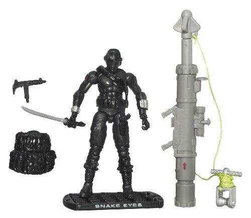 G.I. Joe The Rise of Cobra 3 3/4 Action Figure Snake Eyes Ninja Commando