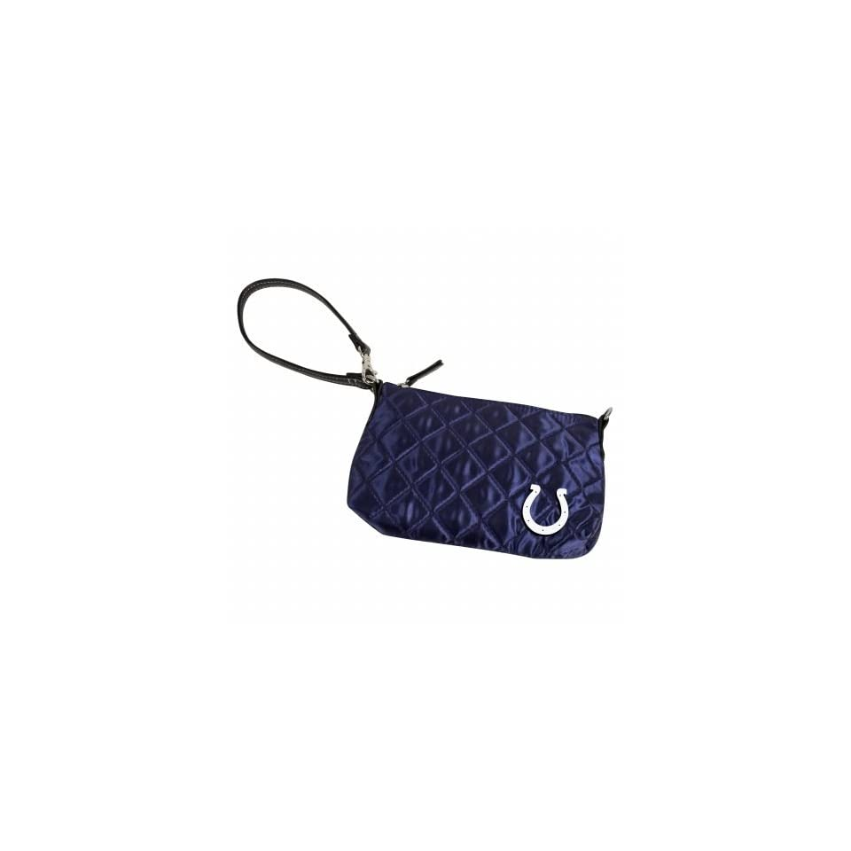 Retro NFL Indianapolis Colts Retro Quilted Wristlet