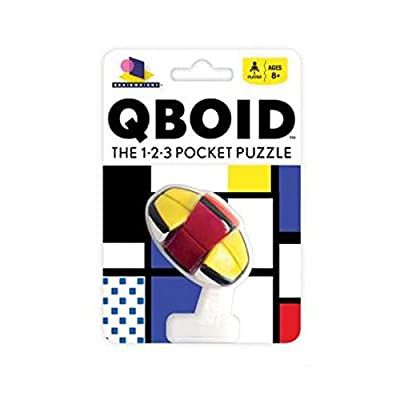 QBoid The 1-2-3 Pocket Brain Teaser Puzzle: Toys & Games