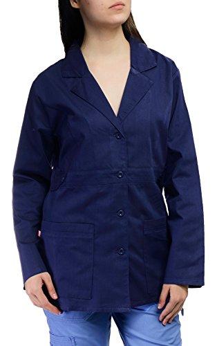 Hey Medical Uniforms Hey Women's Womens Junior Fit Baby Twill Lab Coat Medium - Uniforms Hey