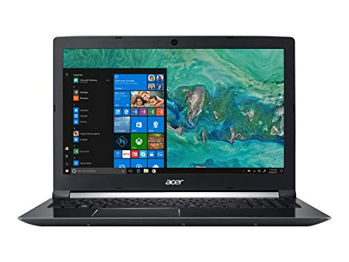 "2019 Acer Aspire 7 15.6"" FHD IPS Gaming Laptop Computer,, 8th Gen Intel Hexa-Core i7-8750H Up to 4.1GHz, 16GB DDR4 RAM, 512GB SSD, NVIDIA GeForce GTX 1050 4GB, Fingerprint Reader, Windows 10"
