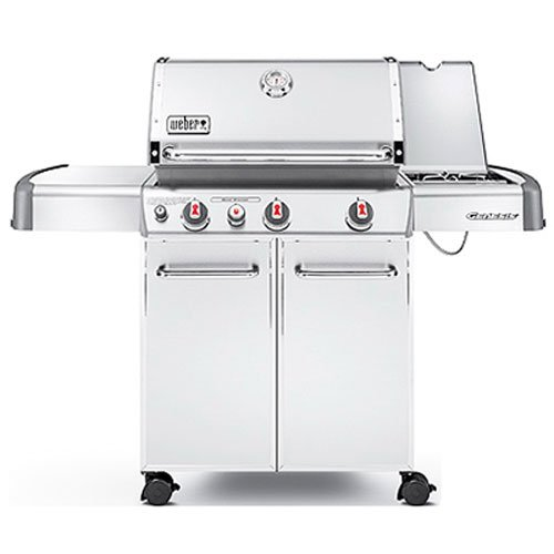 Weber Genesis 6570001 S-330 Stainless-Steel 637-Square-Inch 38,000-BTU Liquid-Propane Gas Grill (Propane Grill By Weber compare prices)