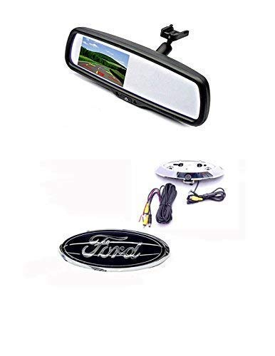 Emblem Backup Camera & 4.3' Mirror Monitor for 2004-2014 Ford F150 & 2008-2016 F250/350/450, Simply The Best Camera!