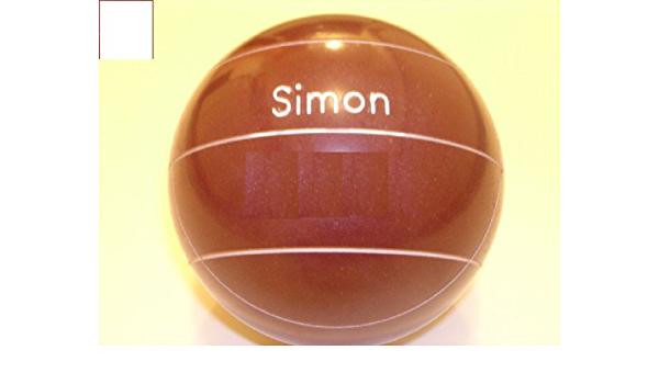 110mm Lime Green and White Balls with Engraving EPCO Premium Quality Engraved Bocce Package