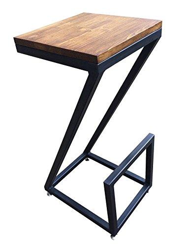 tempedesign Sgabello sedia design moderno in legno e ferro vintage ...